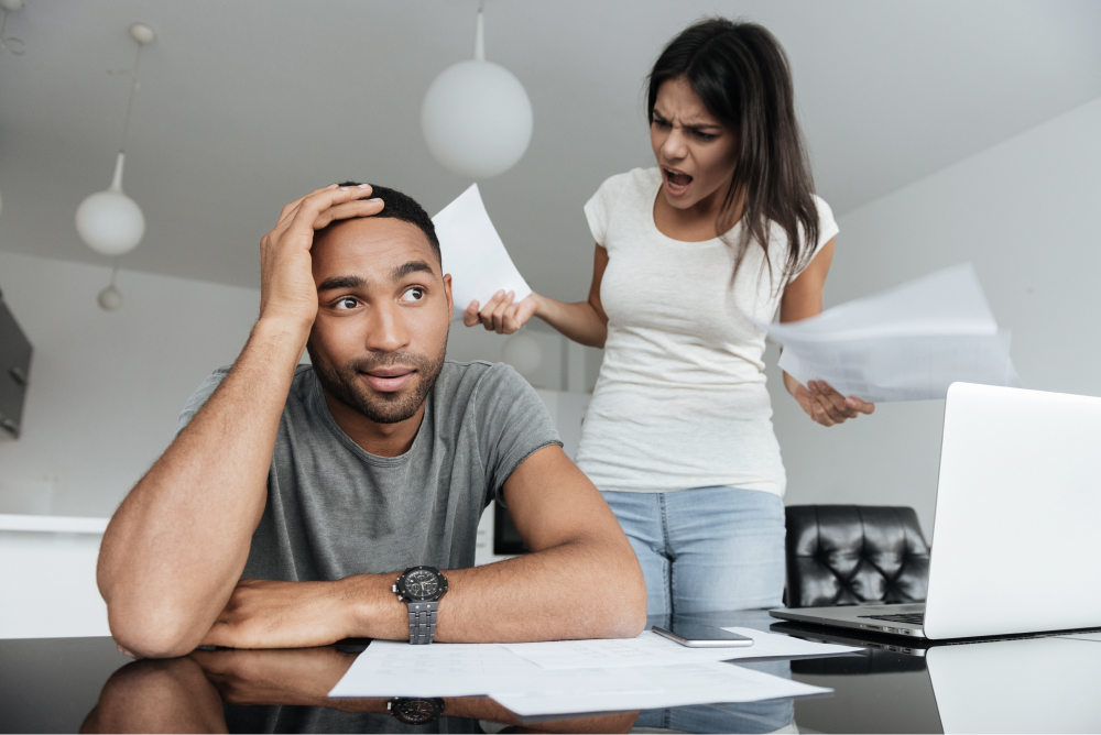 Debt and money problems are the source of many relationship problems. Getting your finances in order can help to avoid this.